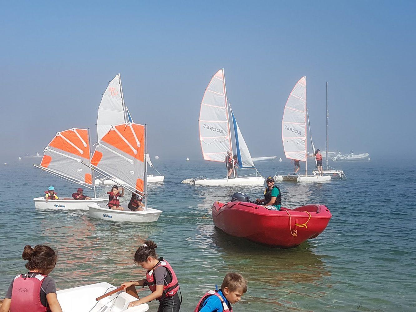 Multi-voile enfant - centre nautique Sainte-Marine