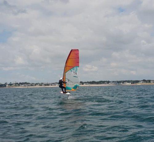Wind foil planche bic techno pro 130 - Centre nautique de Sainte-Marine